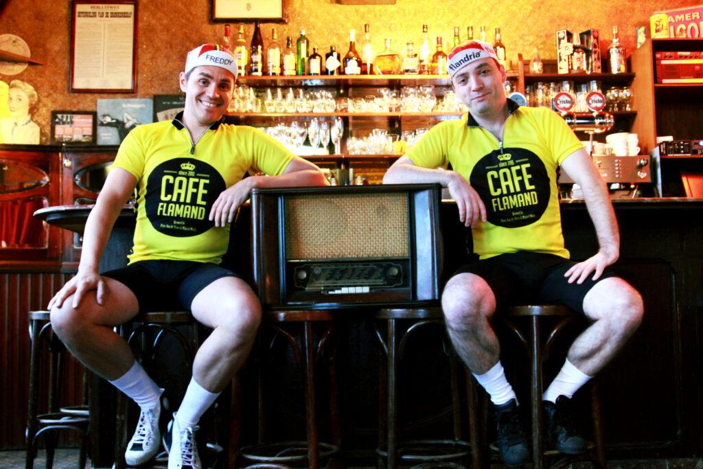 Cafe Flamand - Miguel Wiels - Peter Van de Veire - Niels Destadsbader
